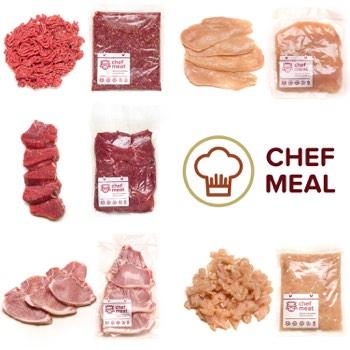 Chef Meat - Kit - Chef Meal Kits Chef Meal -  5 refeições para 2 pessoas