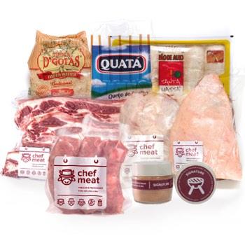 Chef Meat - Kit - Chef BBQ - 10 pessoas Chef BBQ - 10 pessoas