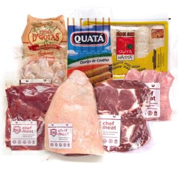 Chef Meat - Kit - Chef Churras - 10 pessoas Chef Churras - 10 pessoas